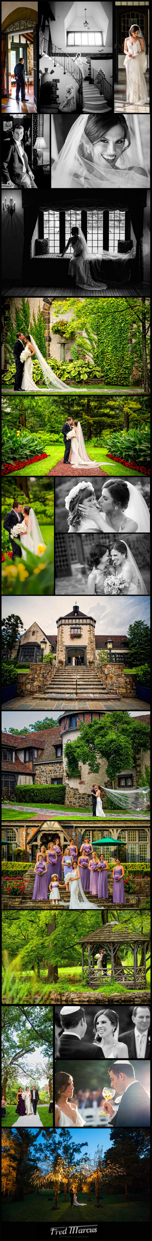 A Wedding for Margo and Rotem and the Pleasantdale Chateau