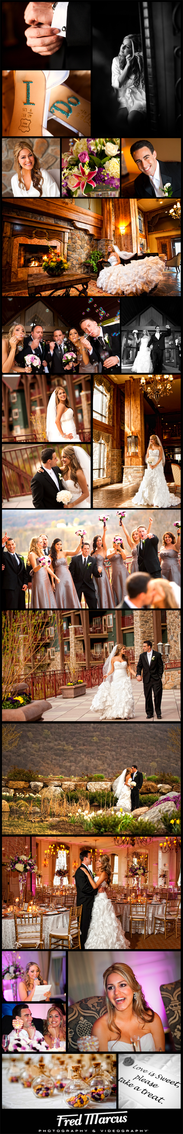 A Wedding at Crystal Springs Resort