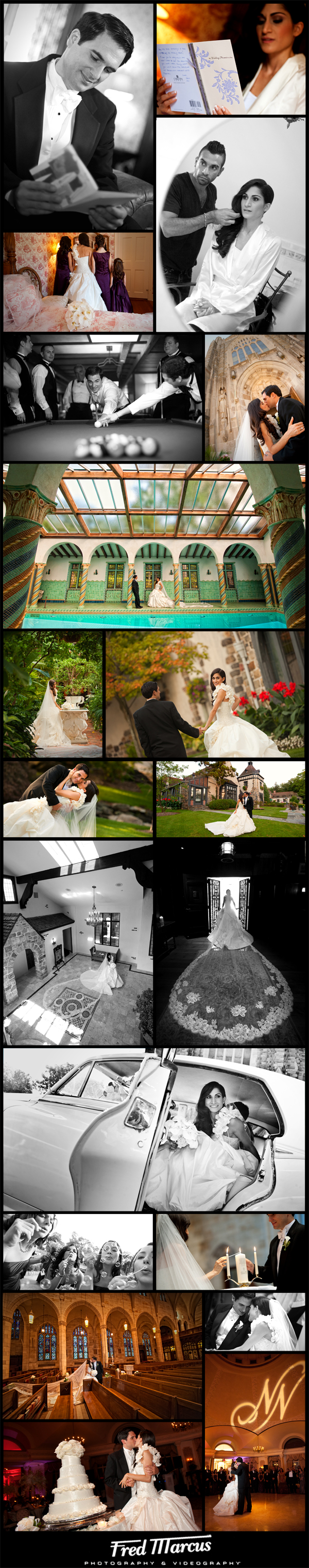 A Wedding for Nick and Nicole at the Pleasantdale Chateau