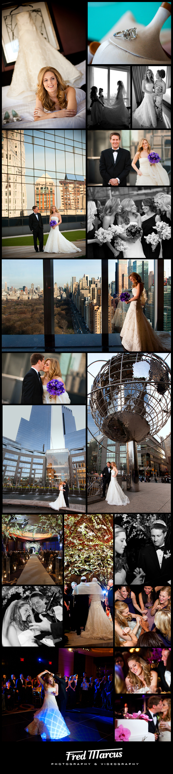 Wedding Photography in NYC – The Mandarin Oriental – Liz and Alex