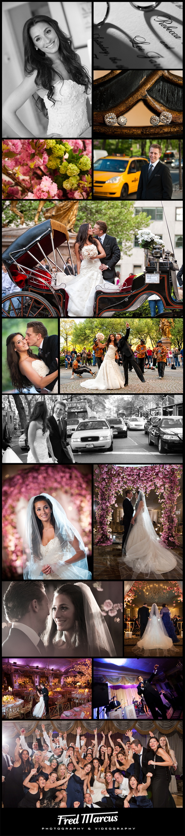 Wedding Photography at The Pierre Hotel – NYC – Rebecca and Lee