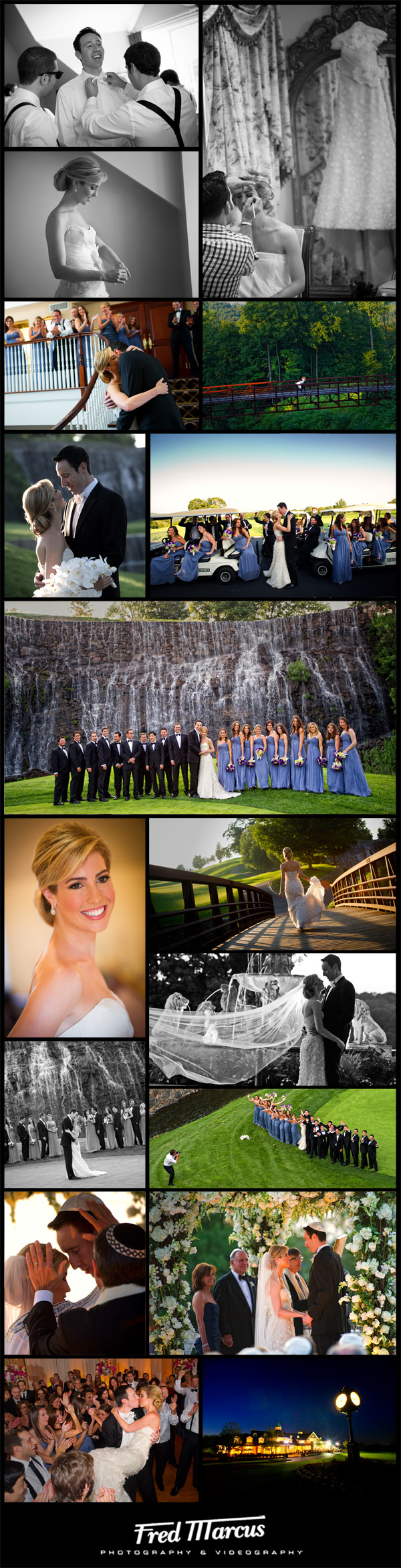 Congratulations to Jennifer and Daniel – Wedding at The Trump National Golf Club in Westchester