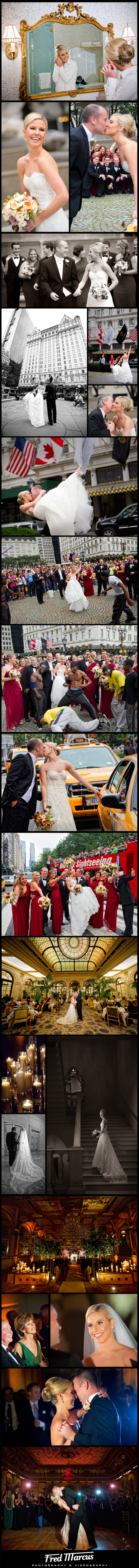 A Perfect Wedding at the Plaza Hotel