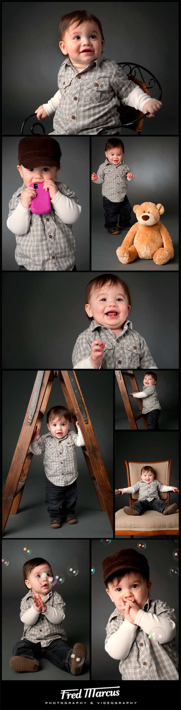 Zachary – Studio Baby Portrait