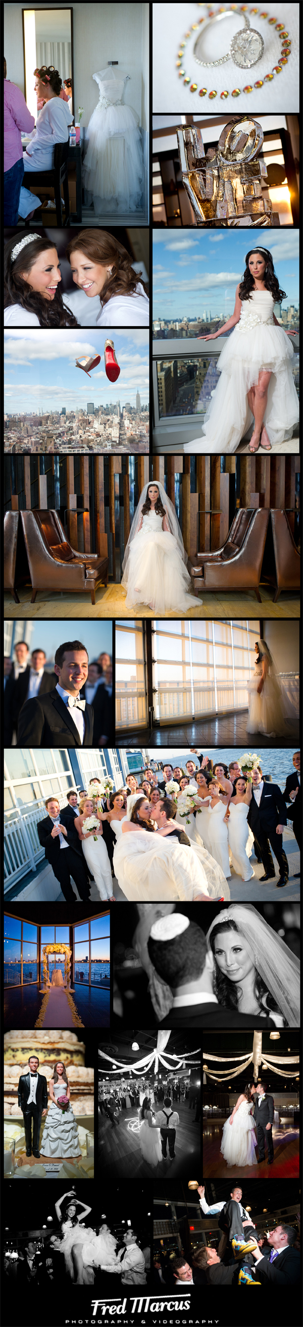 Erica & Daniel – NYC Wedding Photography – Lighthouse at Chelsea Piers